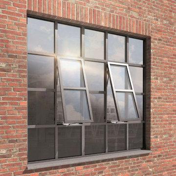 Bronze & Steel windows and doors