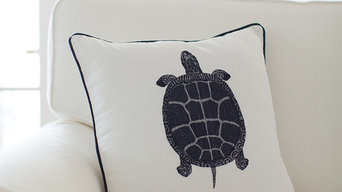 Sea Turtle Cushion Cover | FLORIDA KEYS Collection