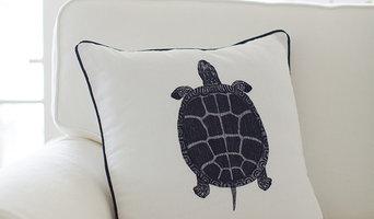 Sea Turtle Cushion Cover | FLORIDA KEYS Collection