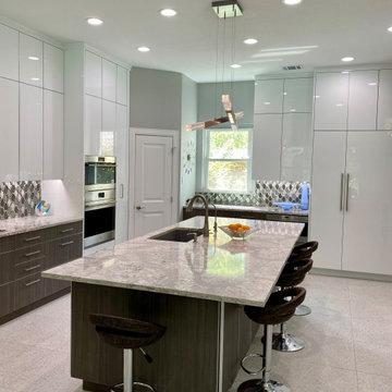 Witt Contemporary Kitchen Island