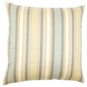 The Pillow Collection Saroja Striped Bedding Sham Kiwi Pink King//20 x 36