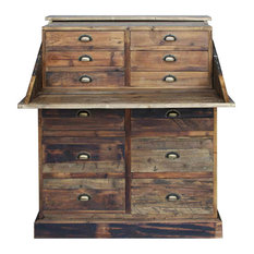 Salvaged Pine Secretary Chest, 1 Per Box