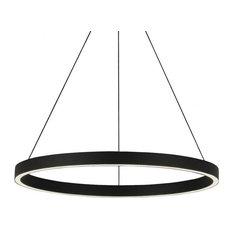 Tech Lighting 700FIA24B-LED930 Fiama Susp 24 Bk-Led930