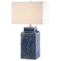 Uttermost Pero Sapphire Blue Lamp 27229-1