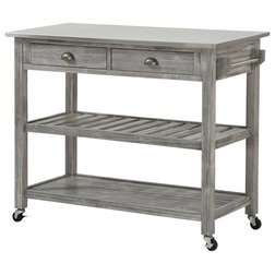 Farmhouse Kitchen Islands And Kitchen Carts by Boraam Industries, Inc.