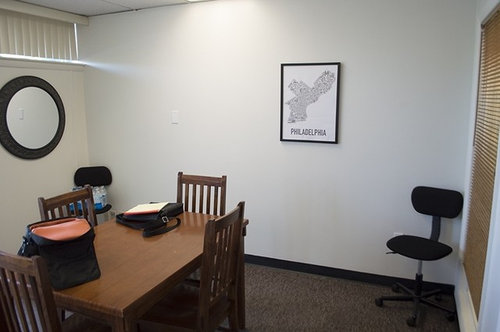 Help! It does not represent the creativity that takes place here! I am open to painting changing window treatments area rugs etc. not sure I am able to ... & Please help me design my barren conference room. .