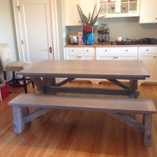 Groovy Bench Table Inside Or Outside Machost Co Dining Chair Design Ideas Machostcouk