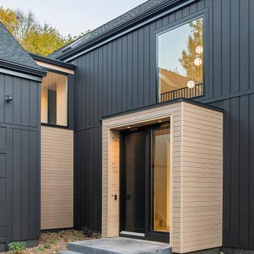 Scandinavian Modern Exterior Entry