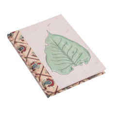 Floating Leaf Paper Journal