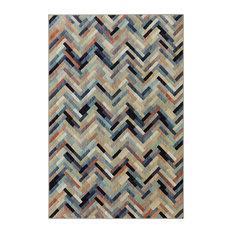 Caftan Stripe Multi Rug, 8'x11'