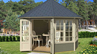 EZ Log Custom Cottage and Gazebo Kits