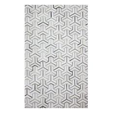 Bashian Cameron Area Rug, Gray, 8'x10'