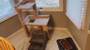 Window nook / Bay window bench