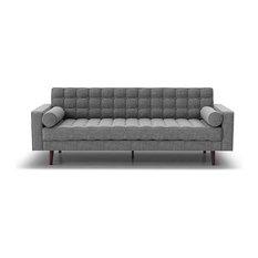 Inmod - Flo Sofa, Light Gray - Sofas