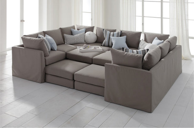 Contemporary Sectional Sofas by Mitchell Gold + Bob Williams : sectionals and sofas - Sectionals, Sofas & Couches