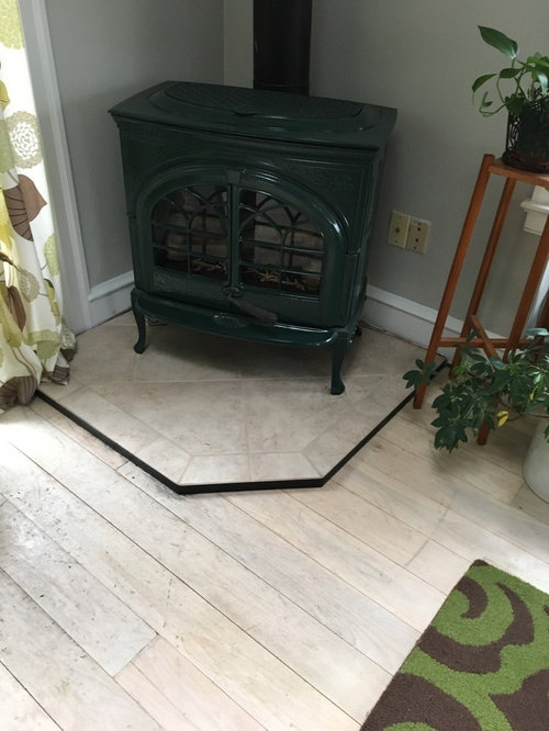 What Type Of Flooring Goes Under Pot Belly Stove