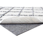 Safavieh - Safavieh PAD130 Dura Carpet-on-Carpet Rug Pad for Indoor Use, 5'x8' - Safavieh's Dura pad is for indoor use and is best suited for area rugs placed on hard surfaces OR carpets. The Dura Pad features a needle-punching fabric with textured waffle-backing for improved gripping power on hard surface floors and carpets. It provides the ultimate in cushioning and insulation for fine rugs. Dura Pad is also designed for use under rugs of any kind and helps prevent premature wear.