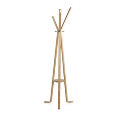 Enzo Natural Wood Coat Stand