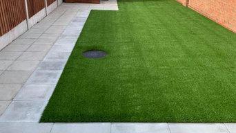 Buick Artificial Grass Installation