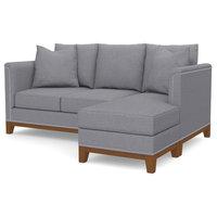 La Brea Reversible Chaise Sofa, Mountain Gray