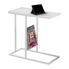Monarch Specialties I 3098 12 Inch Wide Metal Cup Table