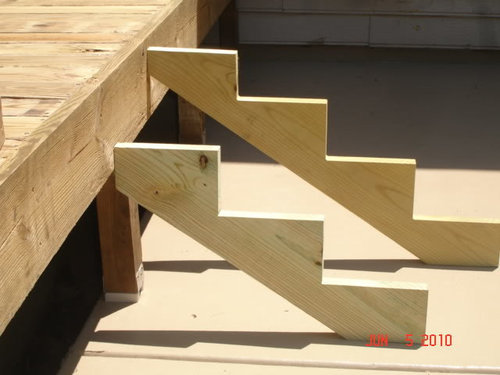 Stair Stringer See Pictures Attached