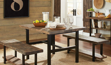 Shop Houzz: Rustic And Reclaimed Furniture Sale