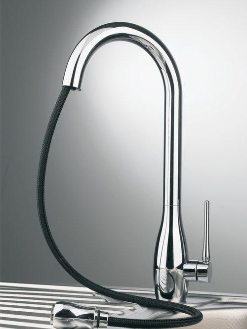 designer kitchen faucets designer goose neck rotatable brass kitchen faucets