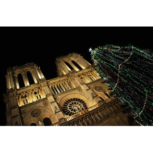 """Notre Dame"" Photo Print, Canvas Print, 60x40 cm"