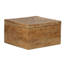 artifacts trading company hand woven rattan letter file box with lid decorative boxes - Decorative Boxes With Lids