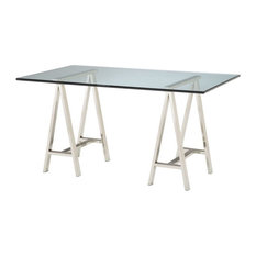 Elk Home 6043526 Table Tops - 36-inch Rectangle Glass Table