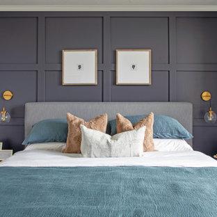 Ispirazione per una camera da letto chic
