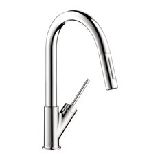Axor Pull-Down Kitchen Faucet, Polished Chrome