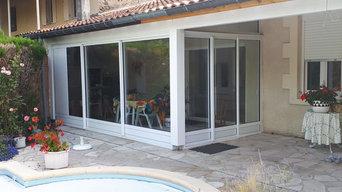 fermeture de terrasse en aluminium