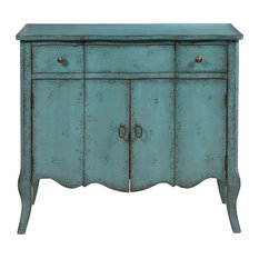 pulaski distressed turquoise accent chest accent chests and cabinets antique pulaski apothecary style