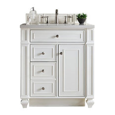 "30"" Bristol Cottage White Single Bathroom Vanity"