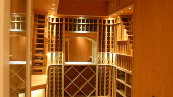 Wine Room in Cedar, Watermill NY