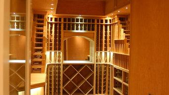 Wine Room in Cedar, Watermill NY