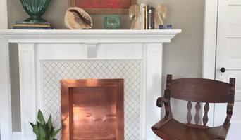 Custom Fireplace and living room decor