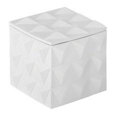 Braque Box, Matte White, Large