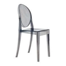 Fine Mod Imports  Smoke Side Chair, Smoke