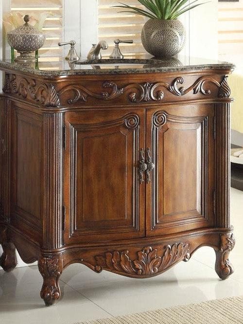 Antique Bathroom Vanities - Bathroom Vanities And Sink Consoles - Antique Bathroom Vanities