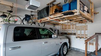 Garage Mezzanine Storage