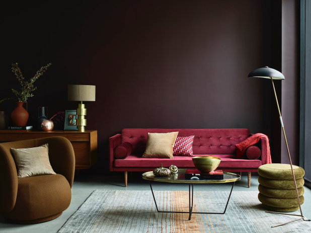 Contemporary Living Room by Dulux