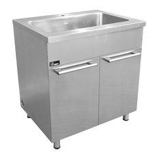 "DAWN - Dawn SSC3636 36"" Stainless Steel Sink Cabinet - Kitchen Cabinetry"