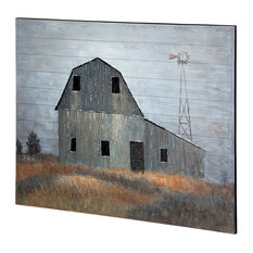 Mercana Old Mill Creek Oil Painting