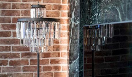 Houzz тур: Квартира в стиле лофт с кирпичами XVIII века
