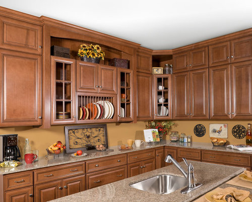 Wolf classic cabinets hudson antique white reviews home for White classic kitchen cabinets