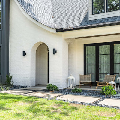 Transitional exterior home idea in Other