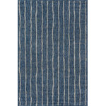 """Momeni - Momeni Novogratz Villa VI-03 Rug 7'10""""x10'10"""" Blue Rug - An indoor/outdoor rug assortment that exudes contemporary cool, this modern area rug collection features repetitive patterns inspired by international architectural motifs. The all-weather rug series emphasizes graphic geometric prints, using high contrast charcoal grey, chambray blue, fuchsia pink and russet red shades to draw attention toward the floor. Manufactured from durable polypropylene fibers, the decorative floorcovering series is a staple for statement-making interior and exterior spaces."""